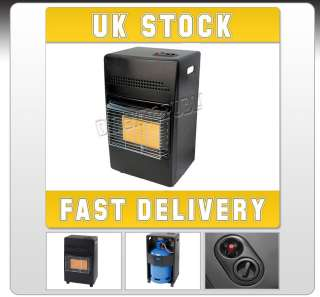 NEW 4.2KW CALOR GAS PORTABLE CABINET HEATER FIRE BUTANE