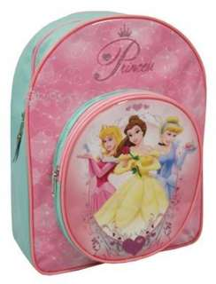 Girls Disney Princess Heart School Backpack Bag