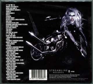 Lady Gaga BORN THIS WAY 31 track 2CD 14 Bonus Remixes