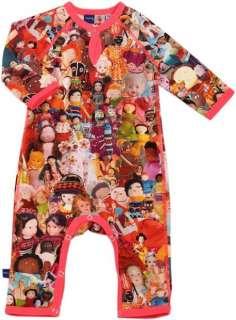 BNWT Molo Kids Girls Fiona Dolls Romper Sleepsuit Suit Playsuit Baby