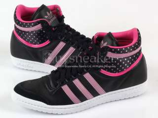 Adidas Top Ten Hi Sleek W Black/Shift Pink/Intense Pink Leather