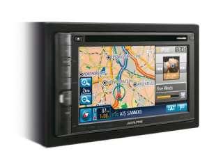 Autoradio ALPINE INE S900R 2 DIN con GPS USB IPOD IPHONE (GAR. ALPINE