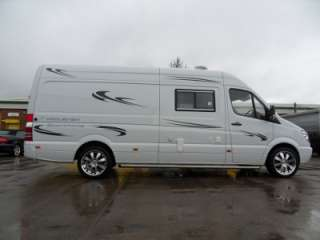 2008 Mercedes Sprinter Motorhome Sports Home Race Van   Mclaren Sports