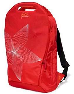 2010 GOLLA G831 CONST 16 INCH RED NETBOOK BACKPACK BAG