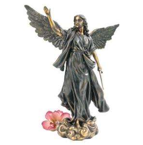 Cathedral Style Classic Heroic Guardian Angel Statue