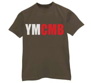 YMCMB T Shirt Money Wayne young weezy lil rap new hip hop tee cash