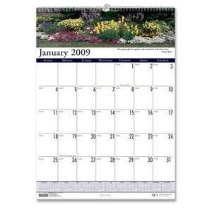 House of Doolittle HOD302 Wall Calendar  in.Gardens of the