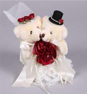 17cm Bride & Groom Wedding Teddy Bears Cuddly Bear TB4