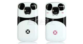 & WHITE PANDA BEAR SNAP ON HARD BACK CASE COVER FOR NOKIA E5
