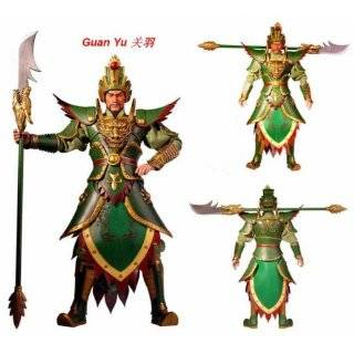 Romance of the Three Kingdoms 12 Action Figures   Set of