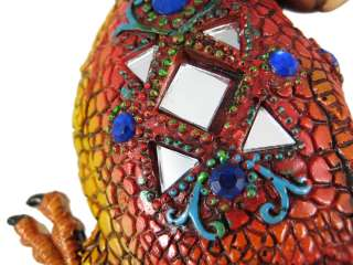 Beautiful Mosaic  Parrot Wall Hanging Bird Tropical