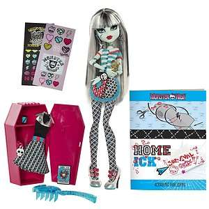 Monster High Classroom Playset   Frankie Stein Doll NIB by