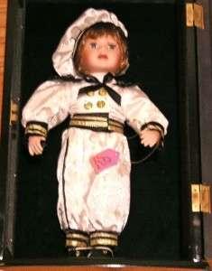 Old Ashley Belle VINCENT Sailor Sailorette Doll VTG Case Vintage Rare