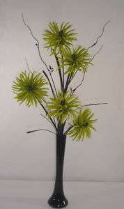 Artificial Silk Flower arrangements & vase 16 designs