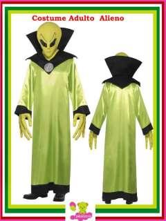 Costume Carnevale Adulto Alieno Marziano tg M # 11911 Alien Costumi