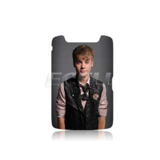 JUSTIN BIEBER BATTERY BACK COVER CASE FOR BLACKBERRY TORCH 9860