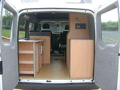 Ford Transit Camper Van Conversion Interior Furniture