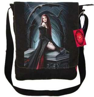 ANN STOKES VAMPIRE GOTHIC ANGEL RUCKSACK MESSENGER BAG