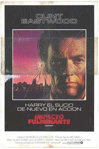 Sudden Impact   11 x 17 Movie Poster   Spanish Style A