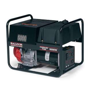 Baldor Powerchief 3,000 Watt Industrial Portable Generator With