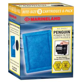 Marineland Penguin Rite Size Ready To Use Filter Cartridges at PETCO