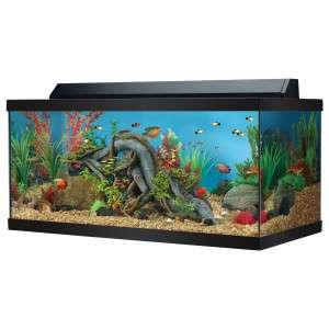 10 gallon aquarium hood top cover fluorescent strip light for Fish tank hood