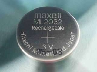 Maxell ML2032 ML 2032 Rechargeable 3V Coin Cell Battery