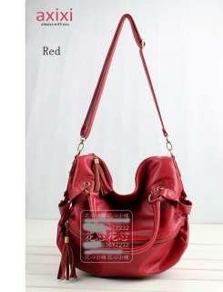 Style Women Shoulder Bag Handbag Tote Hobo Tassels C3