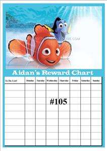 Personalised Reward Chart   Toilet Training Potty