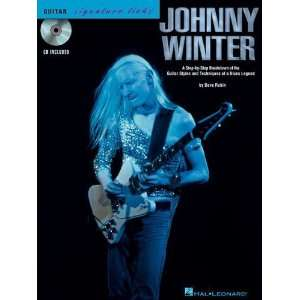 Johnny Winter Guitar Signature Licks BK/CD [Paperback