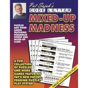 Pat Sajaks Code Letter Mixed Up Madness [Paperback]: Pat Sajak: Books