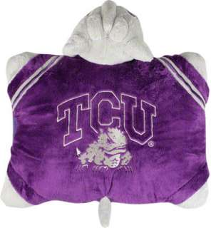 TCU Horned Frogs Pillow Pet