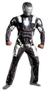 Adult Deluxe War Machine Costume   Adult Iron Man 2 Halloween Costumes