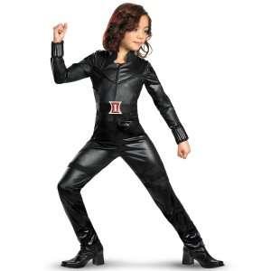 The Avengers Black Widow Deluxe Kids Costume, 802436