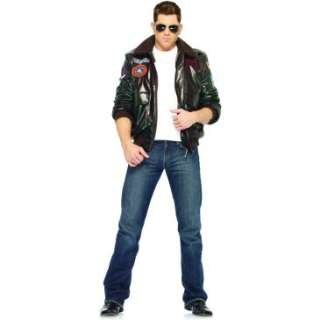 Top Gun Bomber Jacket Adult Costume (Male), 68452