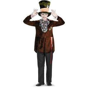 Alice In Wonderland Movie Deluxe Mad Hatter Teen Costume, 801916