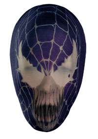 Nylon Full Venom Mask Adult   Spiderman Costume Accessories