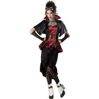 Steampunk Victorian Vampiress Adult Costume, 801372