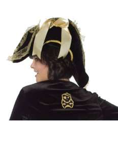Womens Deluxe Velvet Pirate Hat for Halloween   Pure Costumes