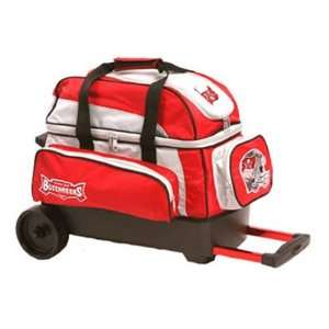 NFL Double Roller Bowling Bag  Tampa Bay Buccanneers