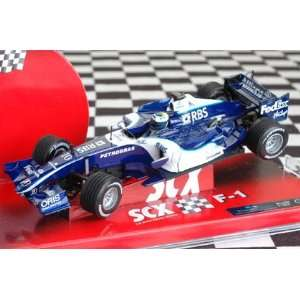 SCX 1/32nd Scale Slot Car   Williams F 1 2006 Toys