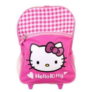 Sanrio Hello Kitty Large Rolling Backpack Toys & Games