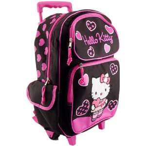 Hello Kitty FULL size Rolling Backpack Toys & Games