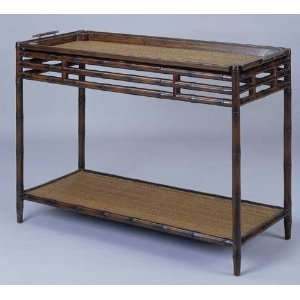 Fairfax Home Furnishings Bamboo Tray Console Table