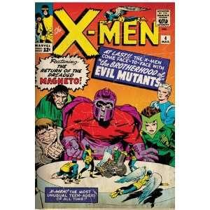 Marvel Comics Retro The X Men Comic Book Cover #4