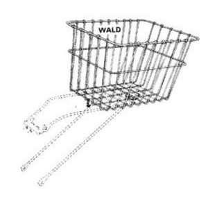 Wald 585 Rear Bicycle Basket (14.5 x 9.5 x 9)  Sports