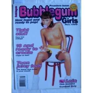 Bubblegum Girls, Adult Magazine Nov. 1999 Hounds of Hell