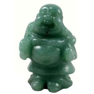 Jade Happy Buddha Statue Figurine
