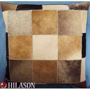 Hair On Patchwork Cushion Pillow Cover Pl193