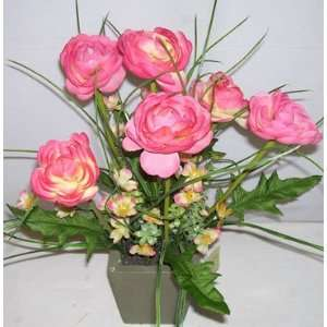 17 Ranunculus Flower Arrangement